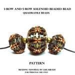 SOLENOID BEADED BEAD
